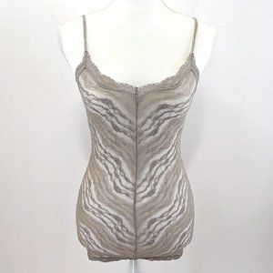 Intimately Free People Sheer Lace Racerback Cami